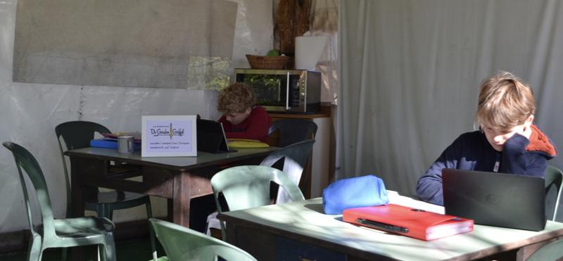 Goboony Lex Saskia in Piemonte huiswerk