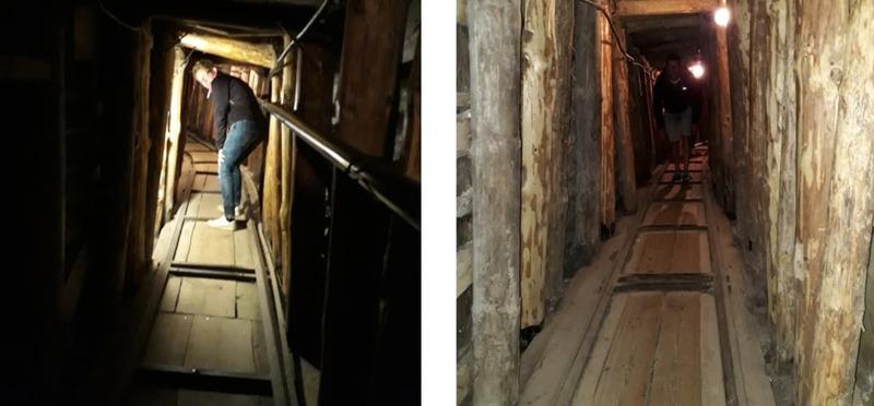Goboony Guus en Sandra in Oost Europa Sarajevo Tunnel