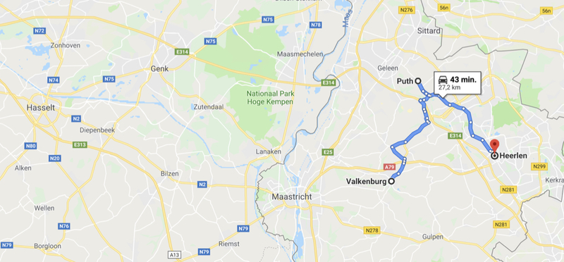 Goboony Met camper naar Zuid-Limburg Route