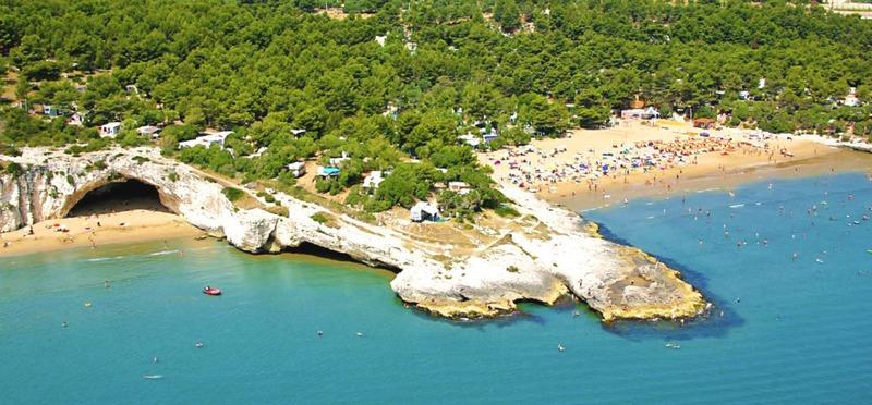 Goboony Camperplaatsen aan zee Punta Lunga