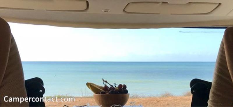 Goboony Camperplaatsen aan zee Mixparking