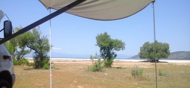 Goboony Camperplaatsen aan zee Salanti Beach