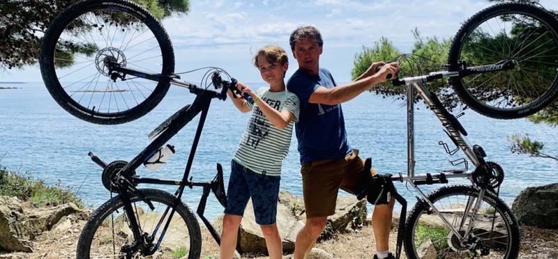 Goboony Lex Saskia Kroatie fietstocht