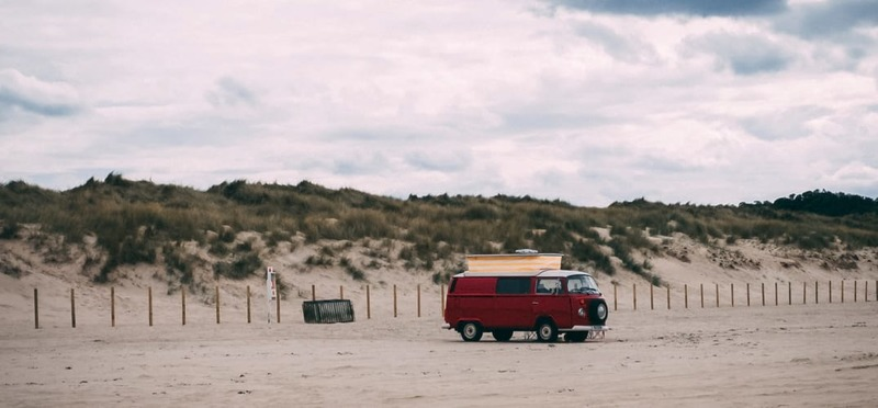 Goboony Camping Zandvoort VolkswagenT1 Strand