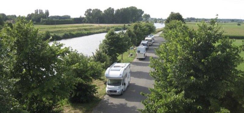 Goboony Camperplaats Water Vaart Noord