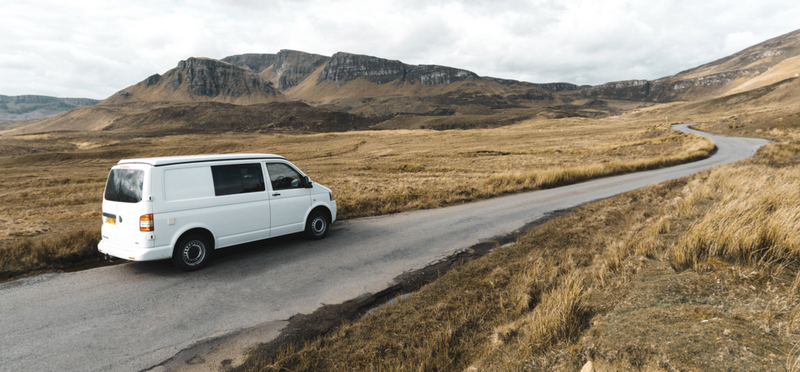 Goboony Campervan Motorhome Scotland H2 Driving