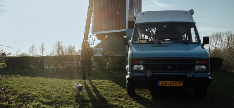 Goboony Desi Leroy Camper Conversion tripjes in NL