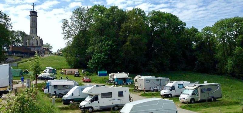 Goboony Camperplaats Valkenburg Kasteelruine