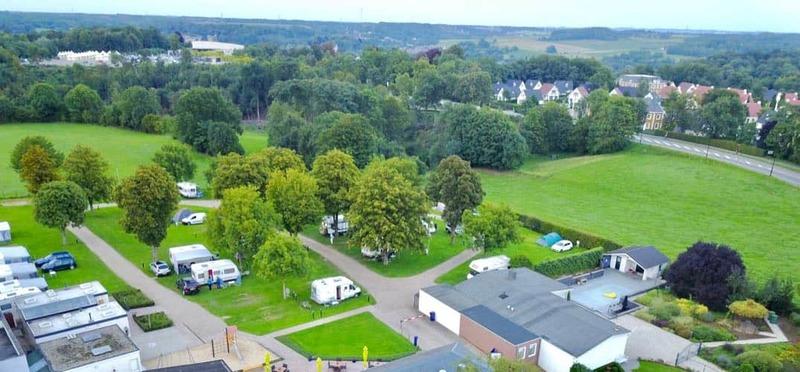 Goboony Camperplaats Valkenburg Cauberg luchtfoto