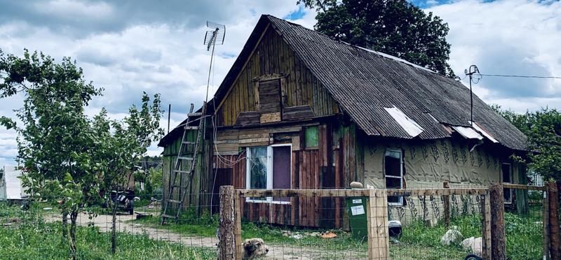 Goboony Lex en Saskia in Litouwen