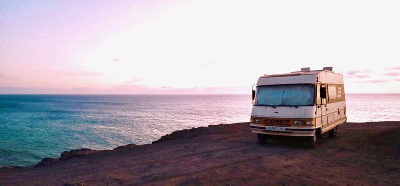 Goboony Roadtrip Spanje Camper aan zee