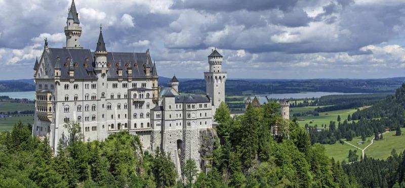 Goboony Camperreizen Europa kasteel Beieren