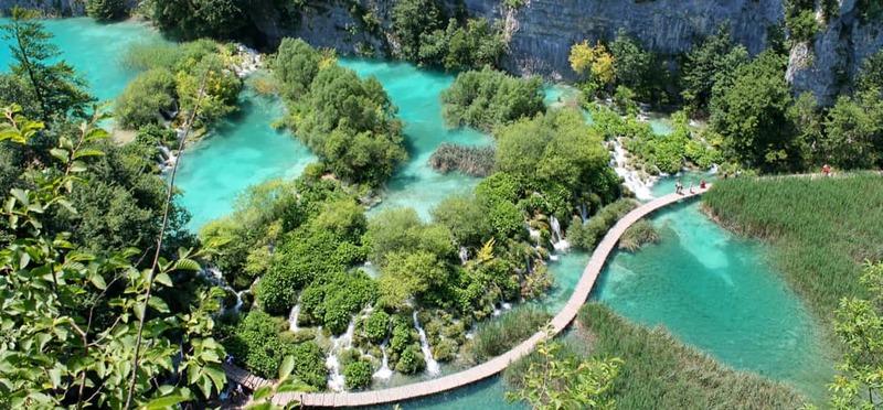 Goboony Camperreizen Europa meren Plitvice Kroatië