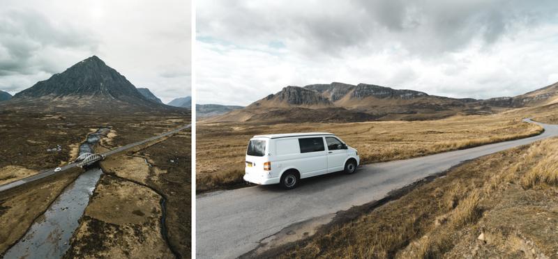 Goboony met de camper naar Schotland