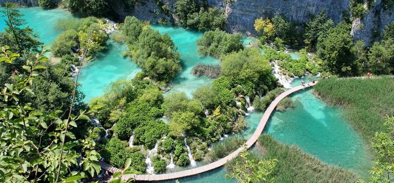 Met de camper naar Kroatie Plitvice meren