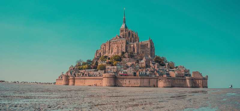 Goboony Camperplaatsen Bretagne kasteel Mont Saint Michel