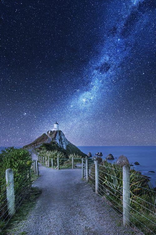 Camper huren in Nieuw Zeeland Nugget Point