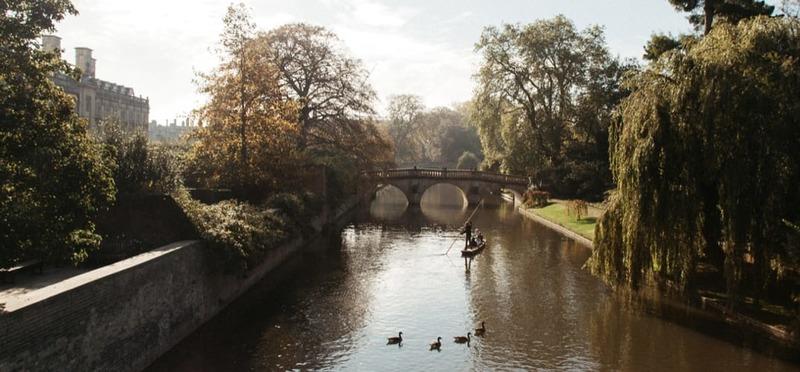 Goboony met de camper naar Engeland Cambridge rivier