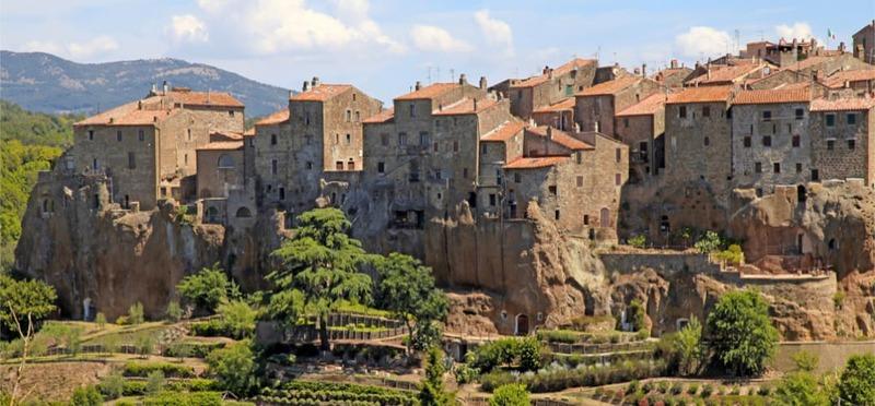 Goboony Top Campings Toscane middeleeuws dorp