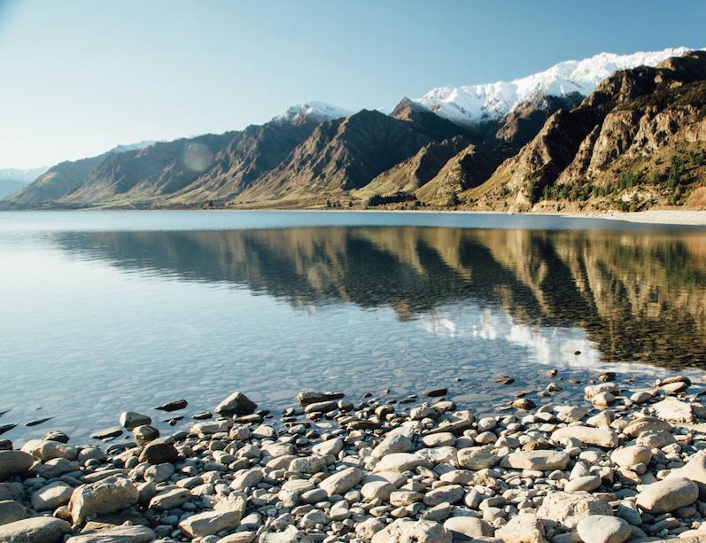 Camper huren in Nieuw Zeeland Lake Hāwea