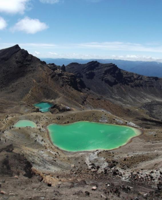 Camper huren in Nieuw Zeeland Tongariro National Park