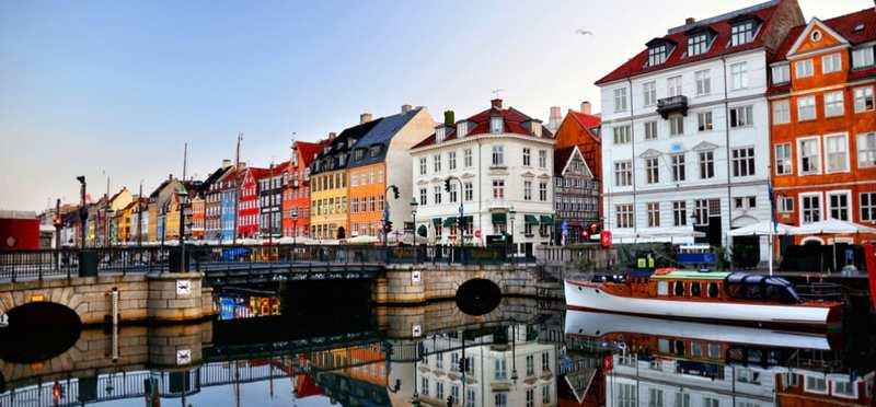 Goboony Met de camper naar Denemarken Nyhavn Kopenhagen