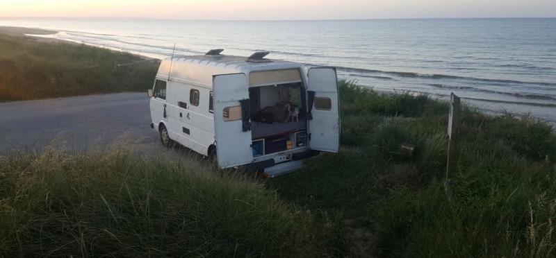 Goboony Met de camper naar Denemarken camper aan zee