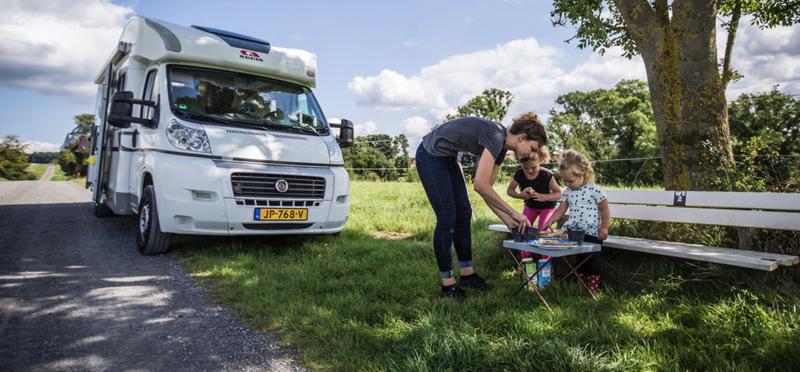 Goboony kamperen met kinderen
