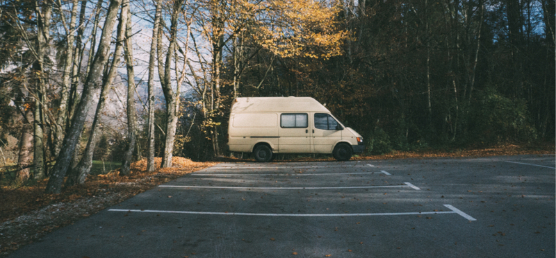 Goboony Campervan Europe Route H2 Forest