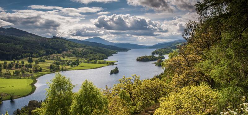 Perthshire Loch Goboony H2