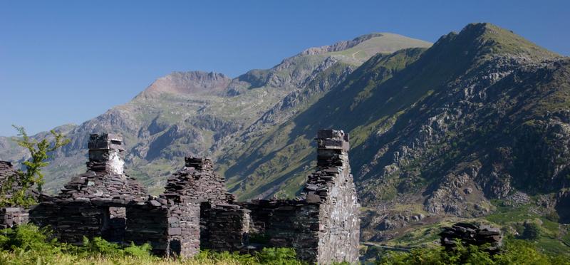 Abandoned Slate Mine Snowdonia