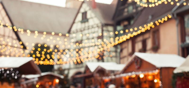 Best Christmas Markets in Wales H2 Houses Lights Old Beautiful Winter