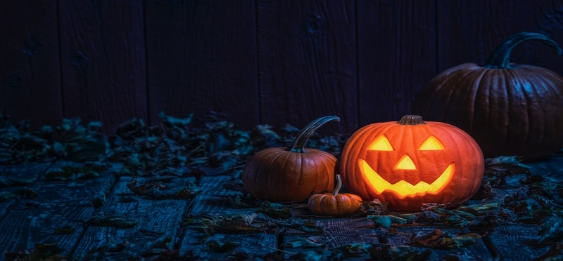 Haunted places to visit this Halloween H2 Pumpkins Scary Orange Fire Night