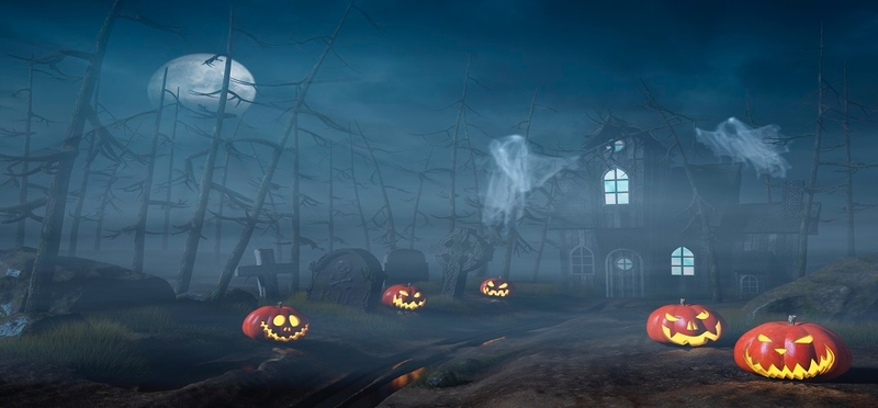 Haunted places to visit this Halloween H2 Spooky Halloween Cartoon Scary Forest