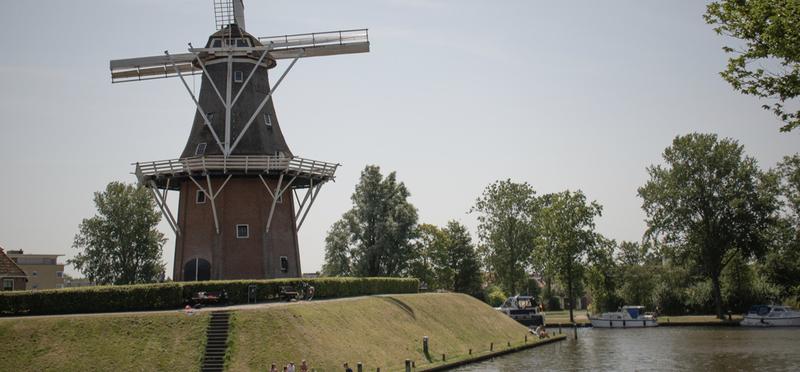 Goboony Friesland Frisian Netherlands H2 Dokkum Windmill