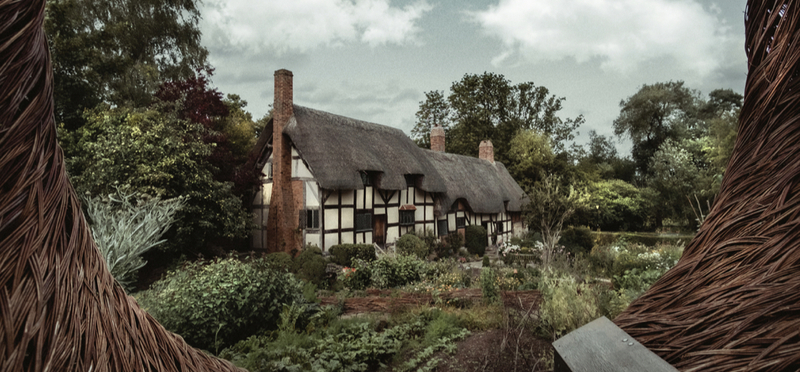 Goboony Anne Hathaway cottage shakespeare h2 stratford upon avon
