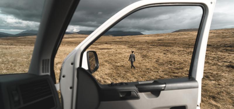 Goboony Scottish Highlands Scotland H2 Campervan