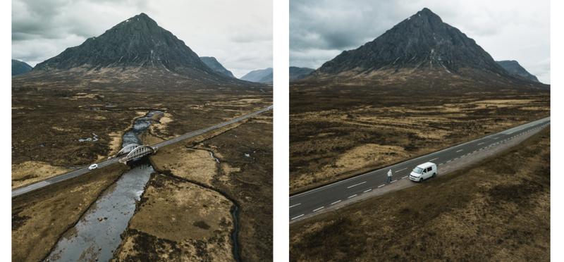 Goboony Mountain Scotland H2 Scottish Highlands Campervan