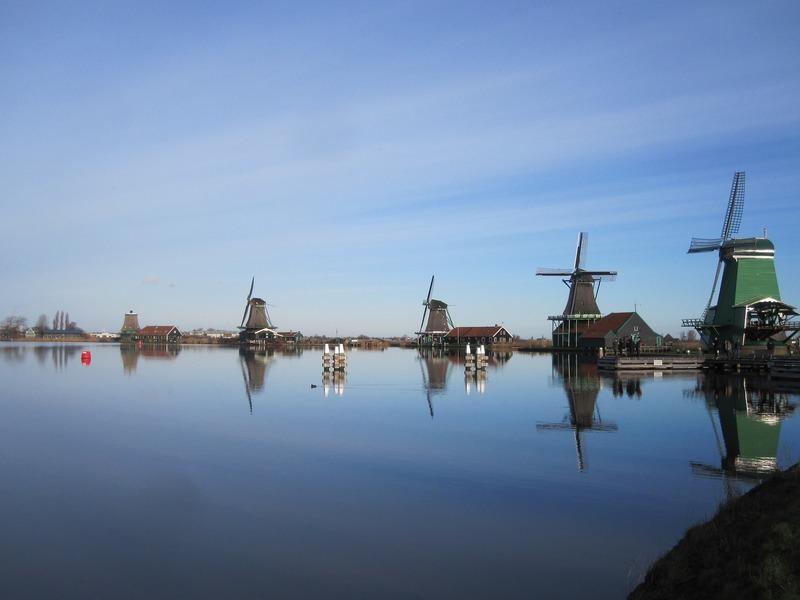 Op vakantie met de camper in Noord Holland bezoek de Zaanse Schans