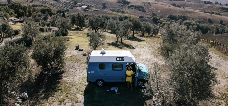 Goboony Desi en Leroy in Italie