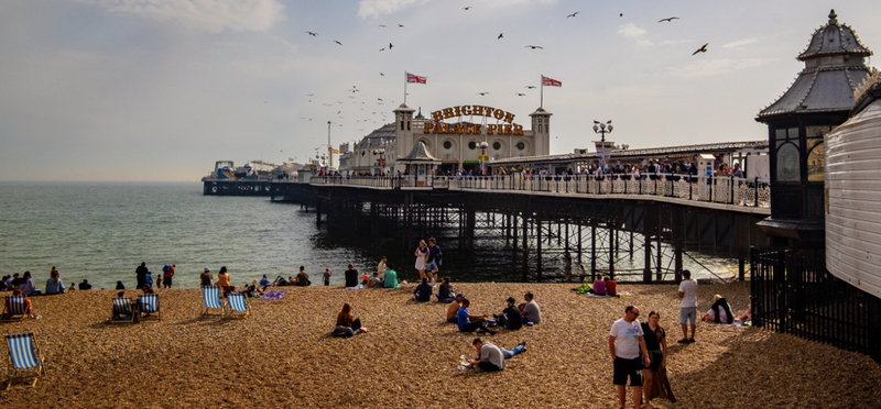 Goboony Brighton Pier Seaside H2 Britain UK