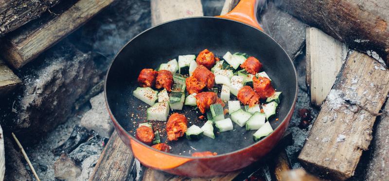 goboony come cucinare in campeggio