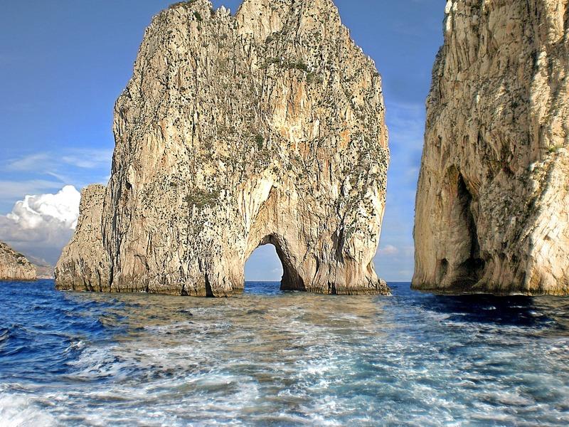 Op vakantie met de camper in Italië naar Capri