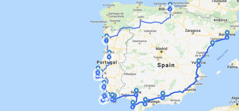 Goboony Roadtrip Europa