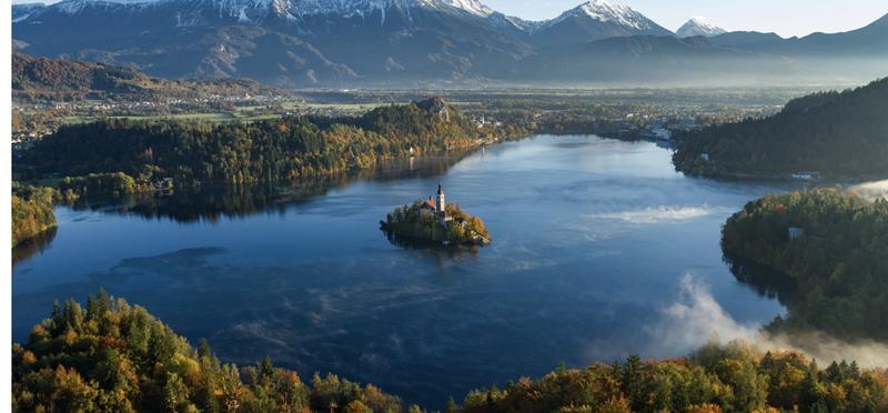 Goboony Slovenia Travel H2 Lake Mountain