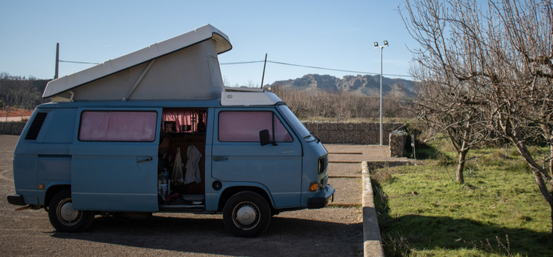 Goboony Vanlife leven in een camper wildkamperen