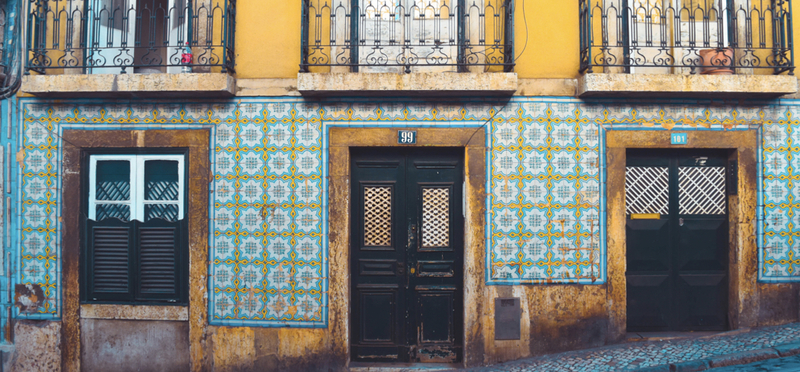Portugal Mosaic Wall H2 Goboony