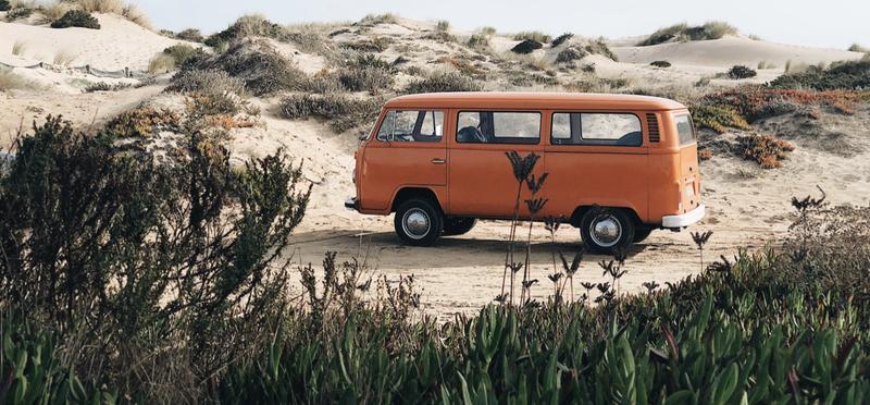 Goboony Orange Campervan H2 Motorhome Portugal Driving