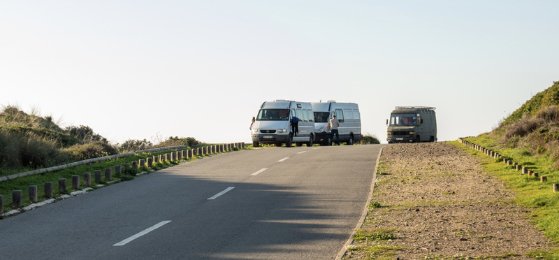 Goboony Campervan Motorhome Portugal H2 Driving Toll Road