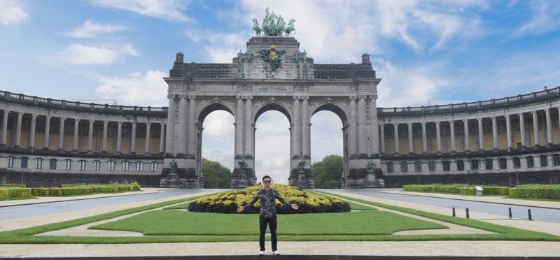 Goboony Arc du Cinquantenaire H2 Belgium Brussels
